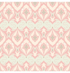 Decorative ornamental seamless pattern vector image vector image