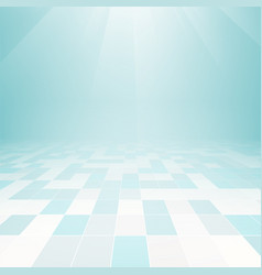 Floor tile background vector