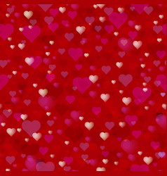 happy valentines day theme seamless pattern a vector image