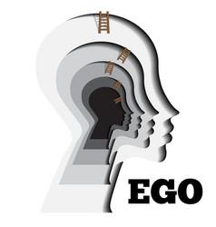Human ego vector