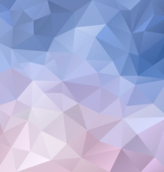 Icy blue violet polygon triangular pattern vector