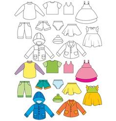 Set clothing vector