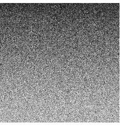 texture of many small circles black square vector image