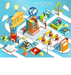 The process of education the concept of learning vector