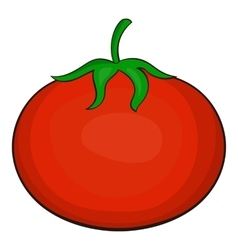 Tomato icon cartoon style vector