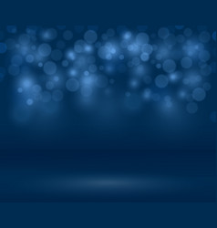 transparent sparkle blurred background vector image