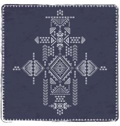 Tribal vintage ethnic background vector