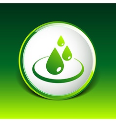 Water drop rain droplet icon fluid clean design vector