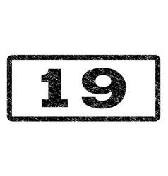 19 watermark stamp vector