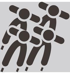 short treck icon vector image
