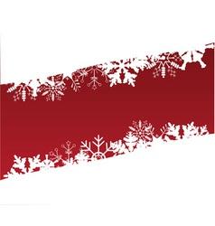 snow backdrop vector image