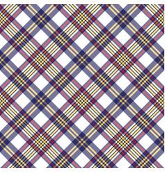 White blue pixel check seamless plaid pattern vector