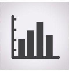 business infographic icon vector image