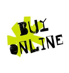 Buy online sticker vector