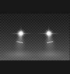 car light vector image