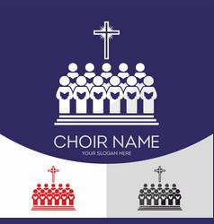 Choir christian church vector