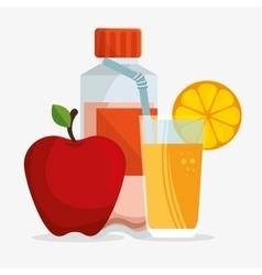 Diet juicy protein sport healthcare vector