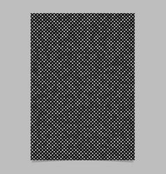 Grey dot pattern brochure background - stationery vector
