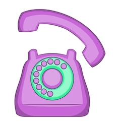 Phone icon flat style vector