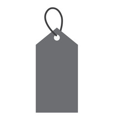 price tag icon on white background price tag vector image