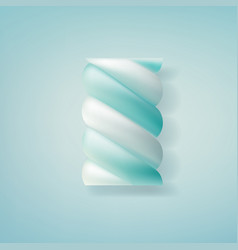 Realistic marshmallow candy vector