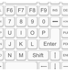 seamless keyboard pattern vector image