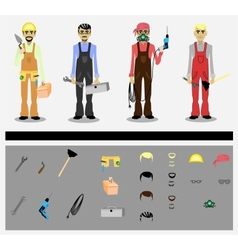 Workers vector