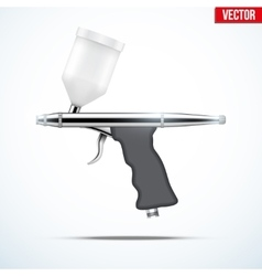 Airbrush with original design vector image