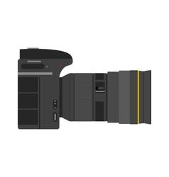 Photo camera isolated vector image