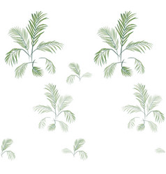 palm tree pattern-02 vector image