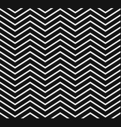 Black and white chevron pattern seamlessly vector