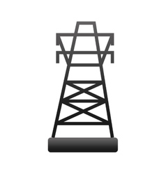 Energy tower structure vector