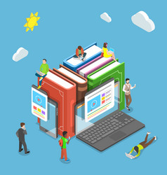 Online training flat isometric concept vector