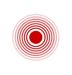 Pain circle vector
