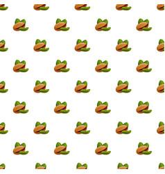 pistachio pattern seamless vector image