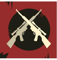 rebel army vector image