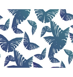 Seamless Butterfly Pattern3 vector image