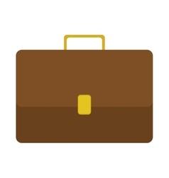 Silhouette closeup with Executive briefcase vector