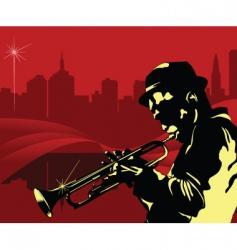 jazz NY vector image vector image