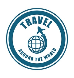 Travel vacation design vector image