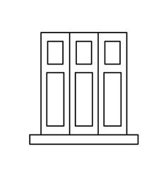 pictogram set book folder office elements design vector image vector image