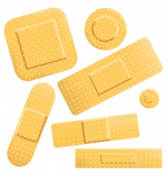 plasters icon vector image vector image