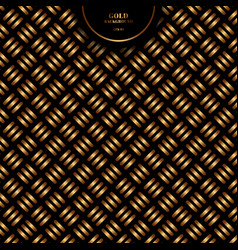 abstract gold geometric cross pattern bold line vector image