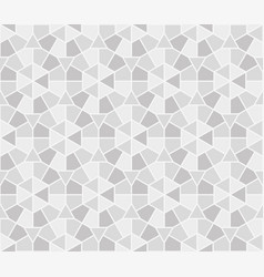 arabic round ornament seamless pattern moroccan vector image