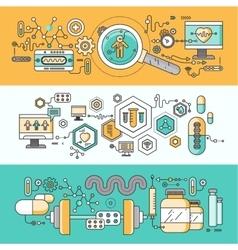 Concept study human medicine vector