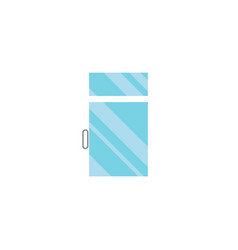 Isolated glass flat icon clean element can vector