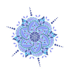 mandala - round ornament traditional vector image