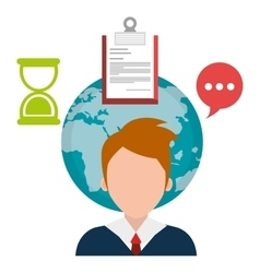 Professional business consulting vector