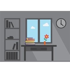 room books vector image