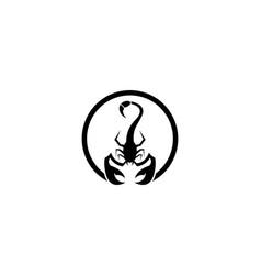 Scorpion symbol icon vector